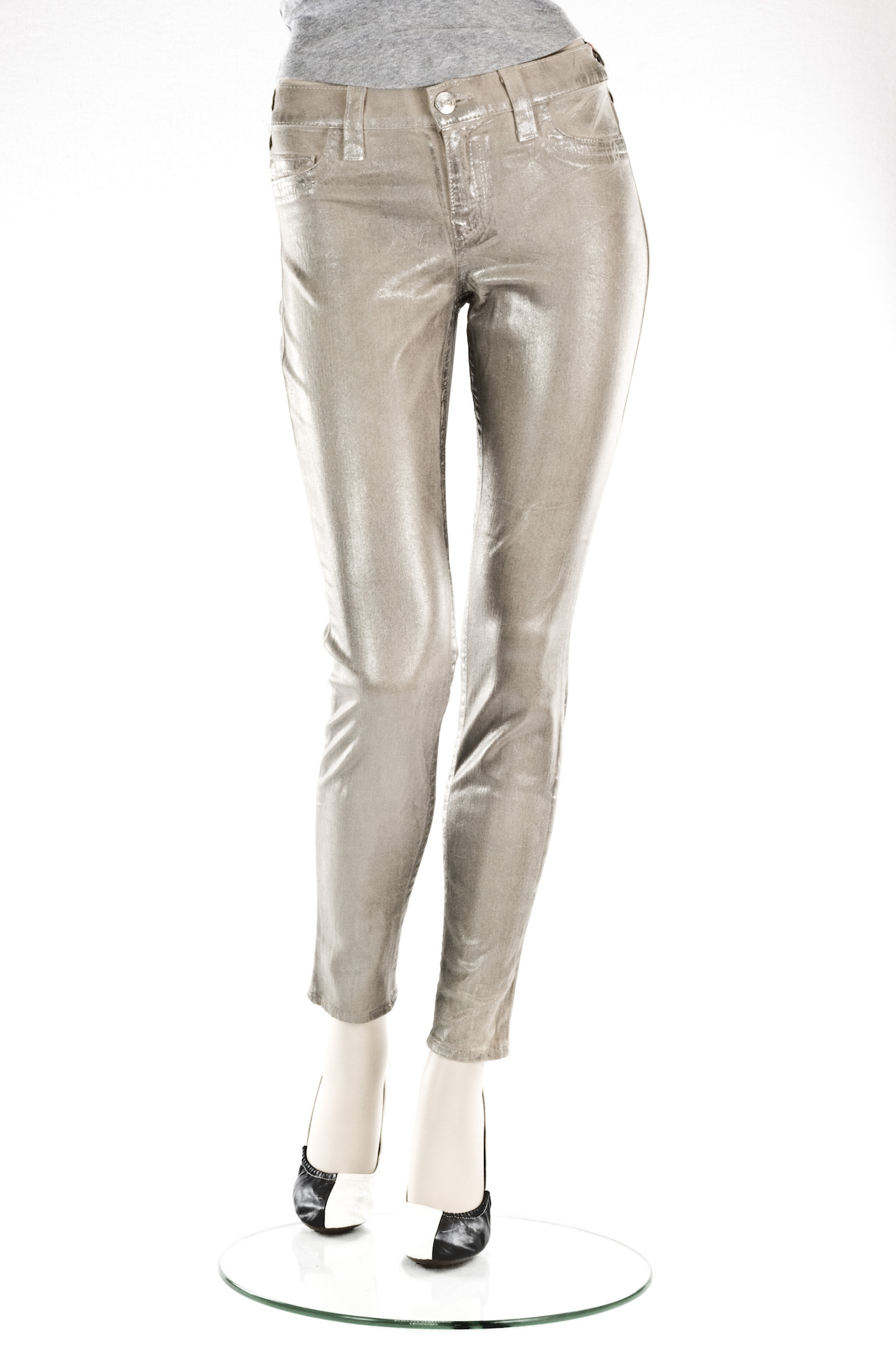 "Женские джинсы True Religion ""Скини"" HALLE METALLIC SPRAY WOM интернет-магазин Fashion Jeans"