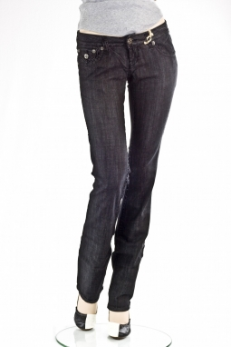 прямые Aliso Beach BBB Straight Leg Denim Titanium