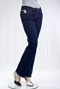 """Буткат"" PRIDE LOW-RISE BOOTCUT JEANS"